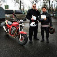 Řidičský průkaz, řidičák skupiny A Ostrava