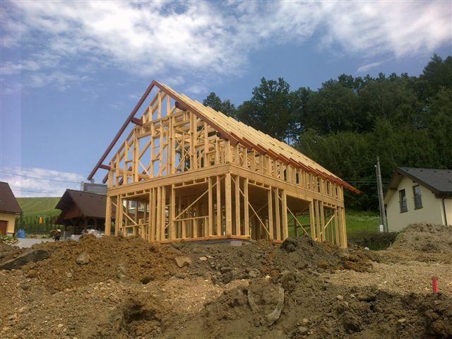 Dřevostavby, dřevěné, roubené domy, zahradní domky, výstavba, Turnov