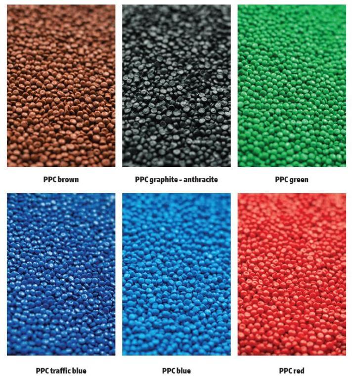 Výroba vysoce kvalitních regranulátů v různých barvách