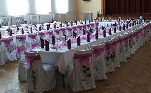 Velký sál na oslavy, akce, semináře, plesy - kapacita 250 lidí včetně cateringu