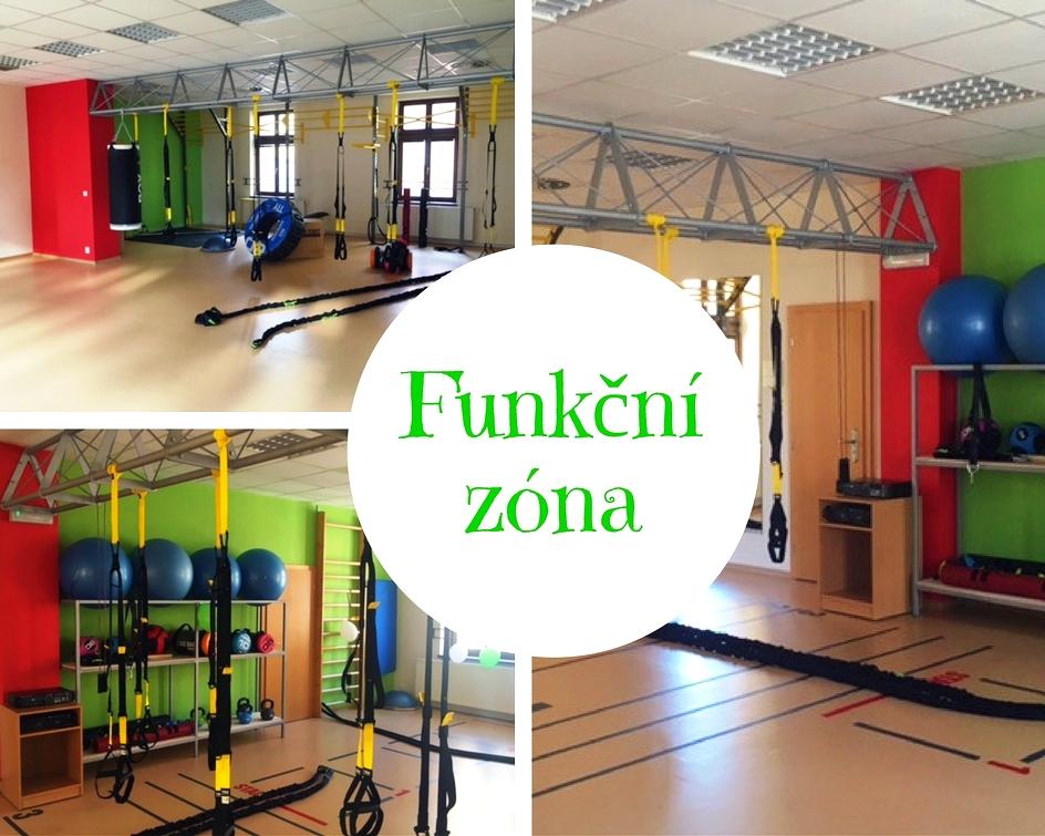 Nová funkční zóna v Opavě - skupinový trénink, TRX systém, Bosu, boxovací pytel