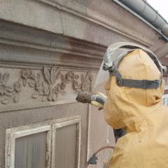 Nátěry proti plísni na fasádách domů