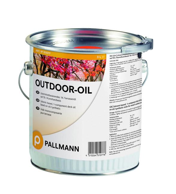 Terasový olej PALLMANN OUTDOOR-OIL -  do každého počasí za akční cenu!