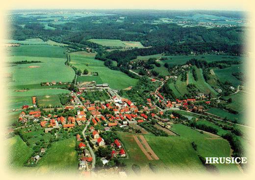 Cykloturistika střední Čechy - Obec Hrusice, kraj Josefa Lady