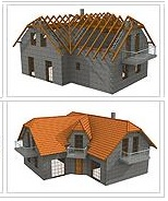 stavby střech Zlínský kraj