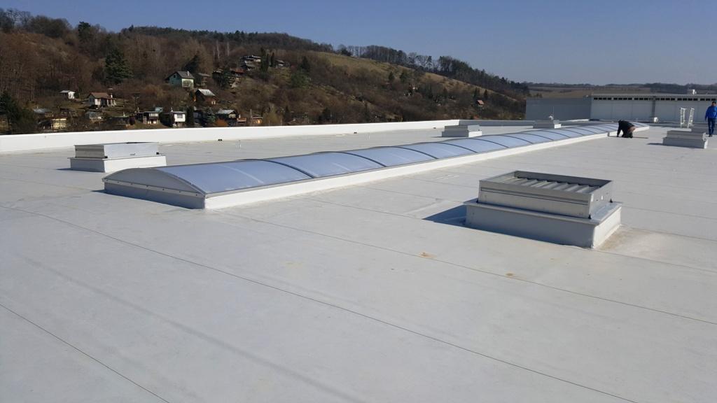 Izolace plochých střech, hydroizolace, střešní izolační folie - prodej a montáže