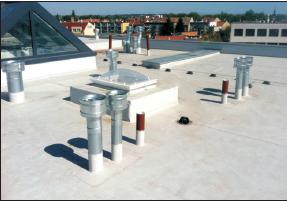 Izolace plochých střech, hydroizolace