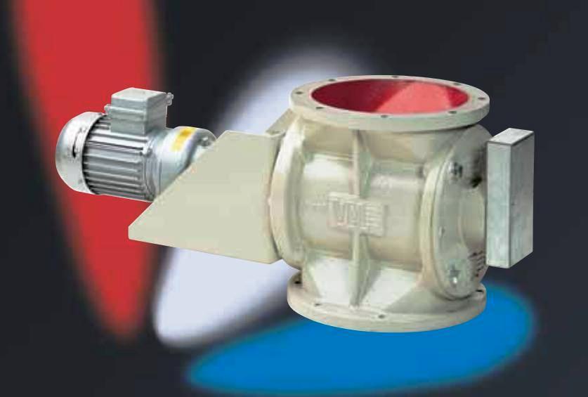Rotační podavače pro sypké materiály a granuláty se snadným ovládáním a nízkými provozními náklady
