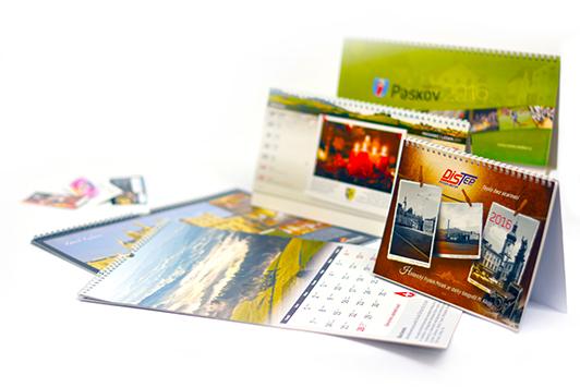 Rady pro tvorbu, grafický návrh, zpracování a tisk firemních kalendářů od zkušené firmy