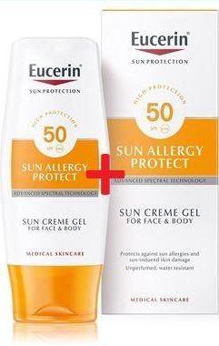 EUCERIN SUN GEL proti sluneční alergii