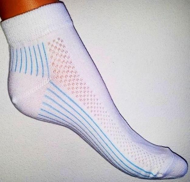 Sportovní, cyklo, tenisové ponožky od českého výrobce z kvalitního materiálu