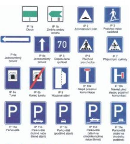 Dopravní značky Karlovy Vary