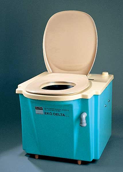 Záchody chemické WC do obytných přívěsů zahrady chaty chalupy