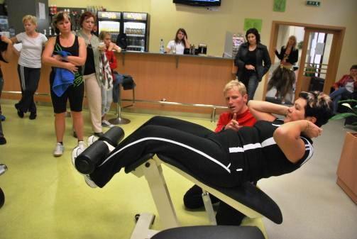 Kruhový trénink Opava - cvičení s vlastní váhou