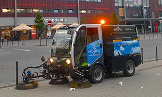 Komunální a úklidové služby, údržba zeleně, Praha a okolí