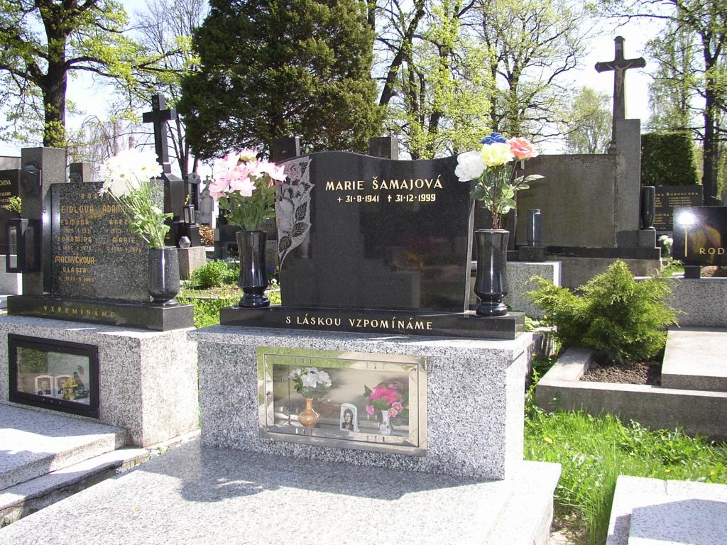 Přebrušování pomníků a náhrobků Ostrava