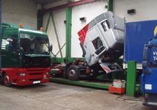 Autoservis, opravy, údržba užitkových, nákladních aut, Pardubice