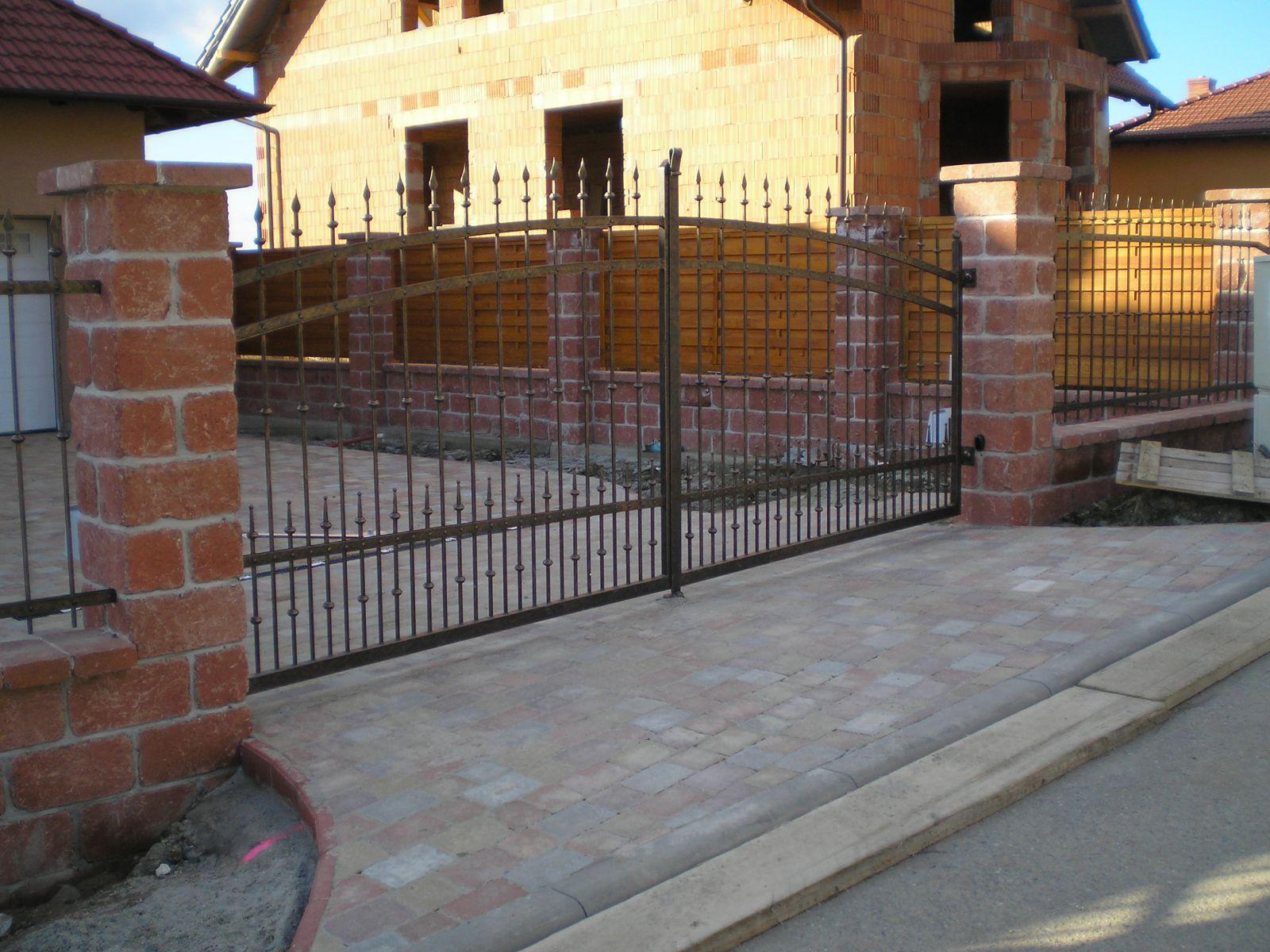 kované brány - umělecké kování