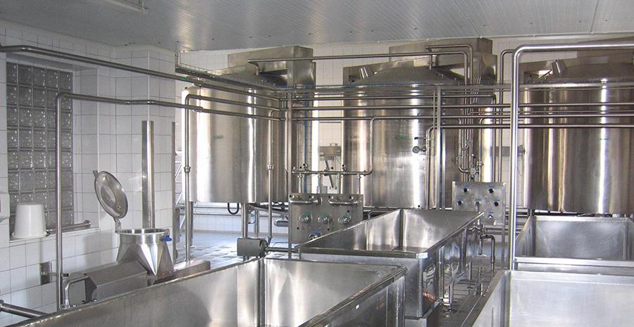 Dodávky a projekty pro nápojářské provozy