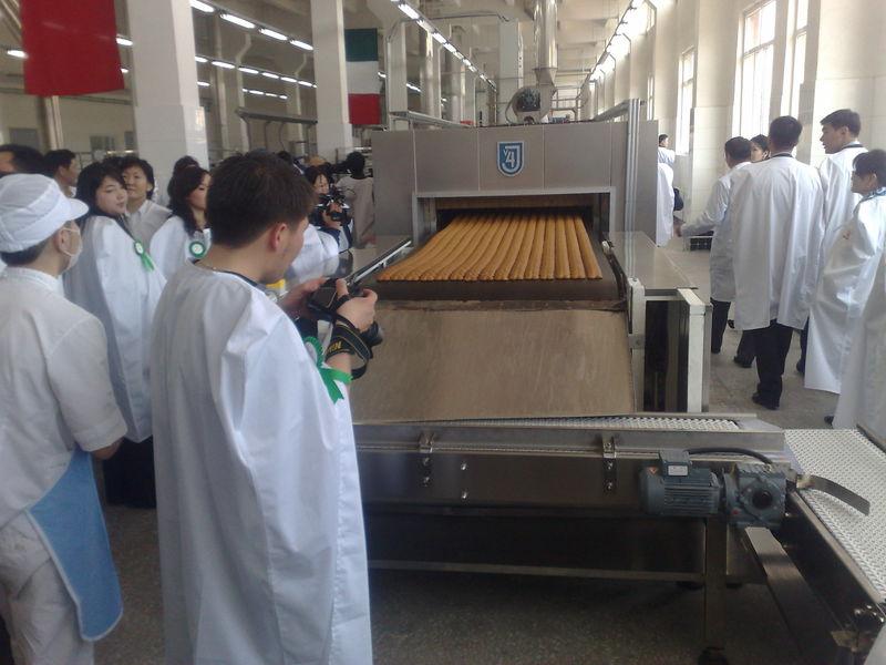 Výroba perníků – stroje a zařízení perníkářské výroby