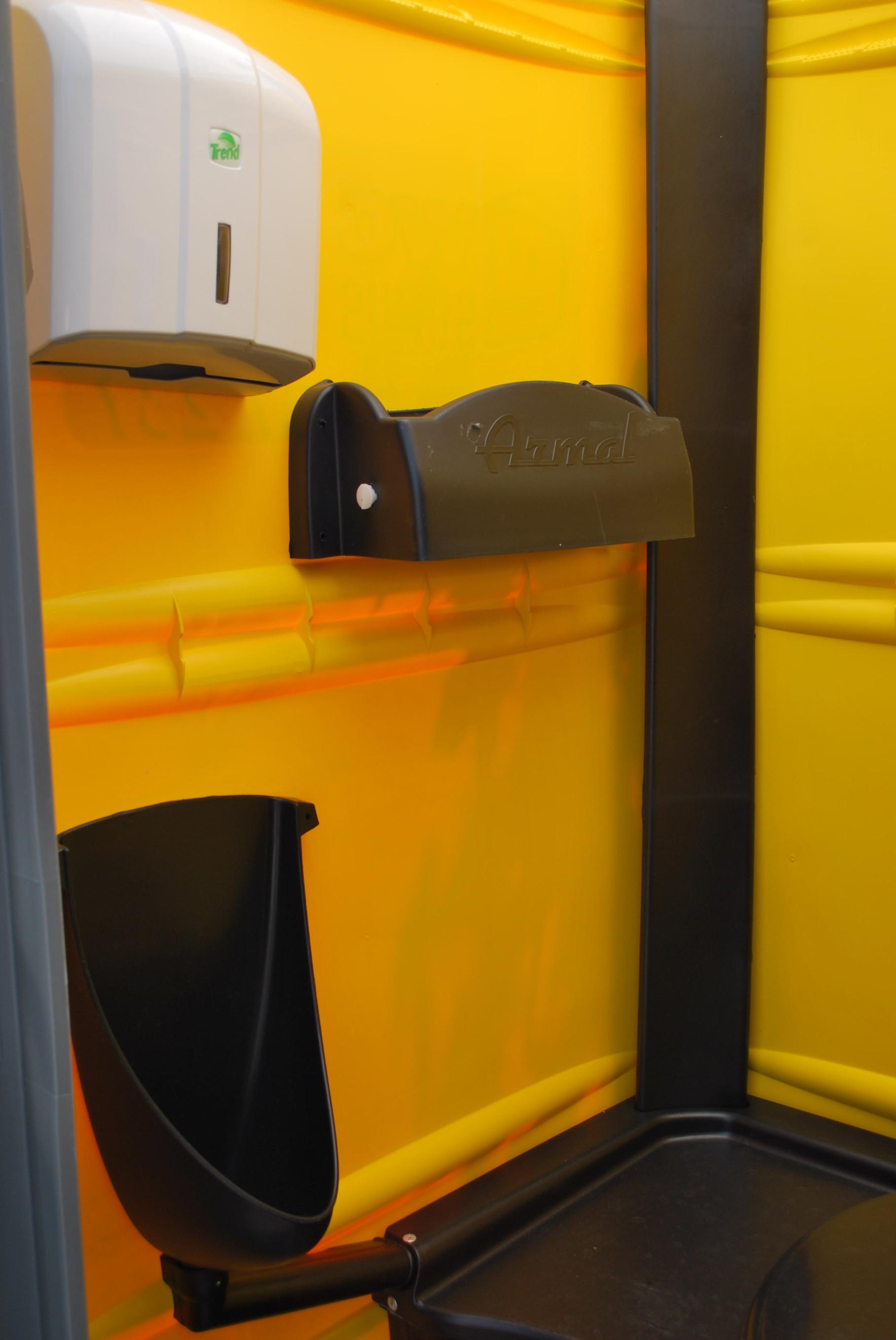 Detail mobilní kabiny