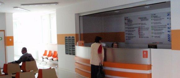 Poliklinika, zdravotnické zařízení, ambulance, město Bor, okres Tachov