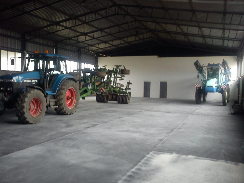 Podlahy pro zemědělce