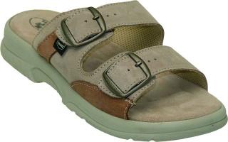 Pánské pantofle N/517/36/28/47/SP béžová