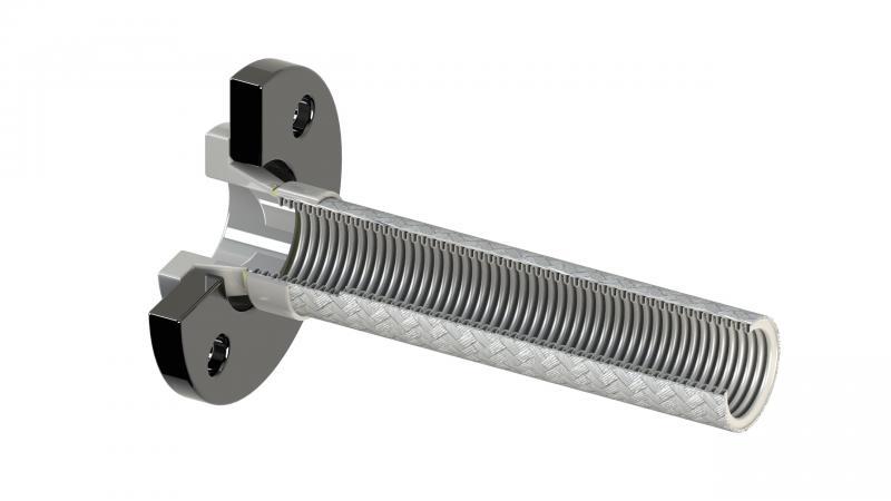 Vlnovcové hadice - nerezové, kovové, vysokotlaké hadice z PTFE