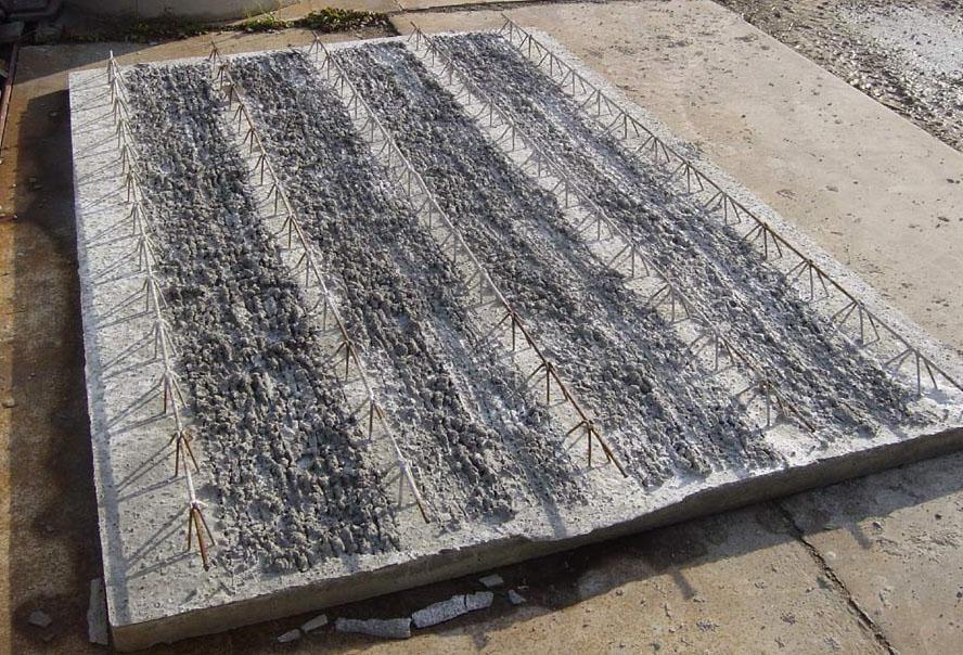 Stropní desky - Výroba betonových filigránů
