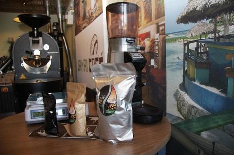 čerstvě pražená káva přímo z pražírny