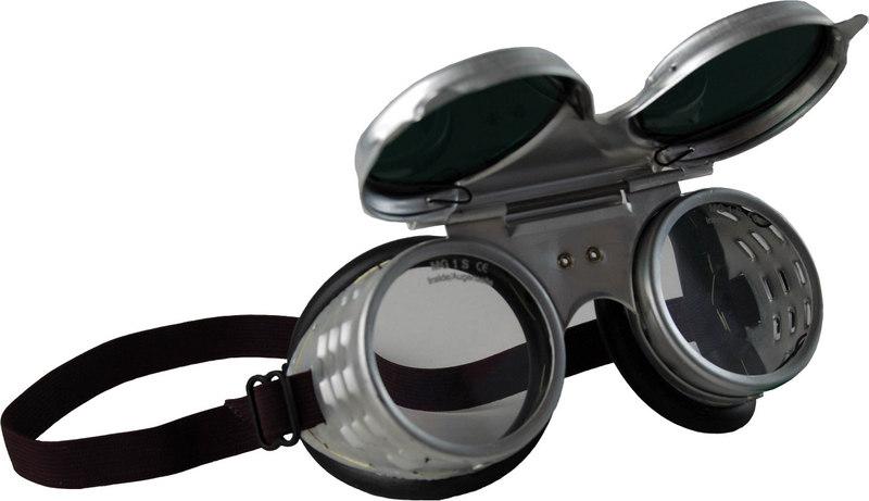 Svářecí uzavřené ochranné brýle SB 1