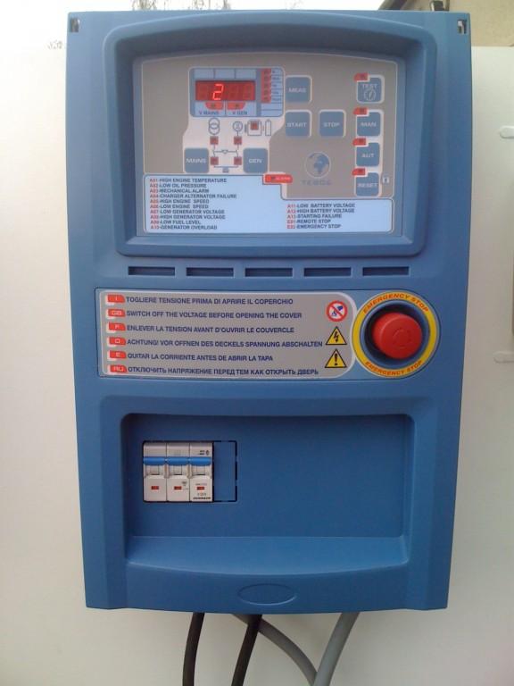 Elektrocentrála Europower EP 6000E – ATS od belgického výrobce