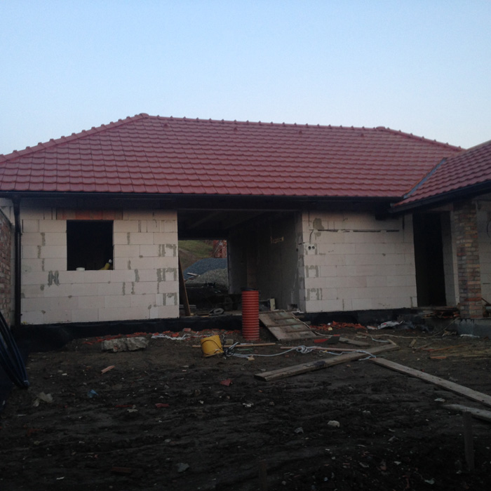 výstavba rodinného domu - Jihomoravský kraj