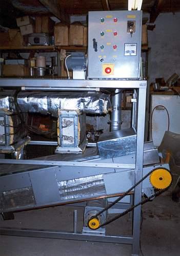 Výroba fluidní a vibrofluidní sušárny