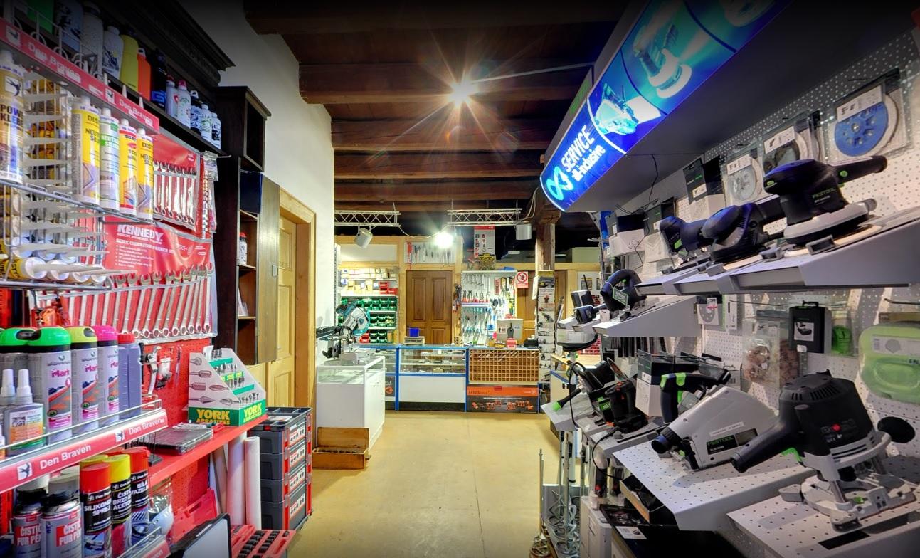Brusivo, spotřební a spojovací materiál - specializovaný maloobchod