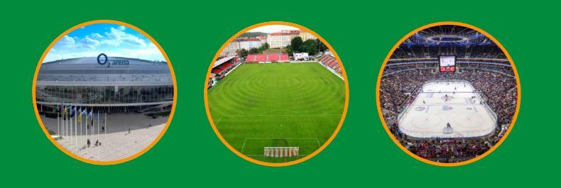 Osvětlení sportovišť, stadionů, sportovních hal a školních tělocvičen na klíč