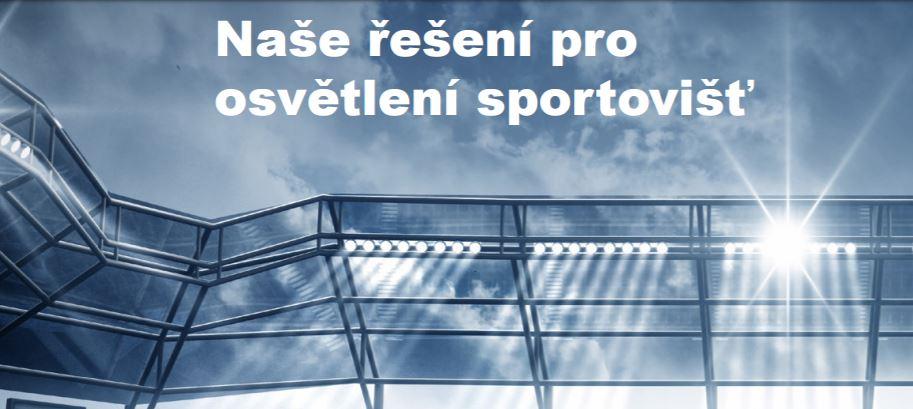 Osvětlení sportovišť na klíč - ELTODO a.s.