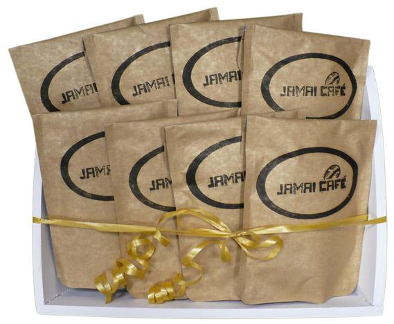 Eshop, prodej čerstvě pražená káva, dárkové balení kávy