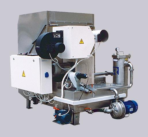 Komorový postřikový stroj - výroba