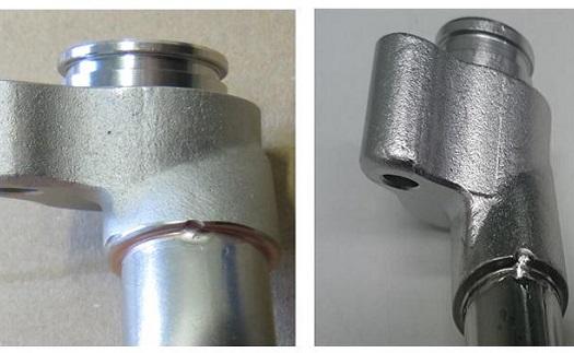 Pájení nerezových i ocelových materiálů pastou na bázi mědi (Cu) a na bázi nikl-chrom (Ni-Cr)