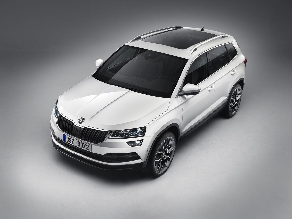 Nový vůz Škoda Karoq od autorizovaného prodejce vozů na Zlínsku