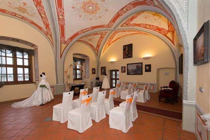 Svatba na zámku Valeč, Vysočina, Třebíč