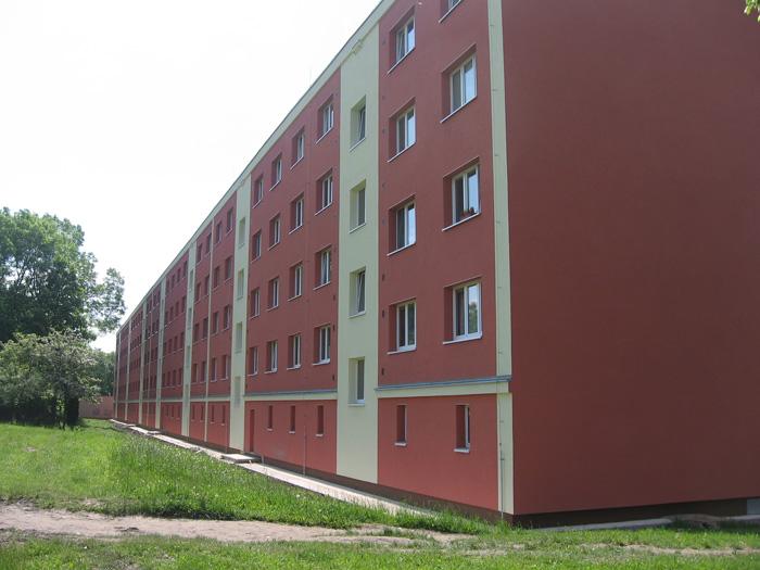 Zateplení panelových domů, rekonstrukce objektů, stavební práce