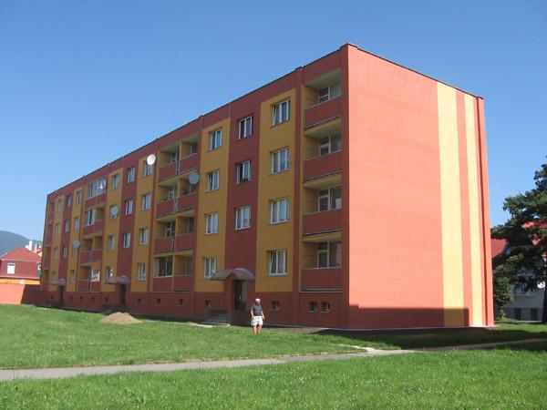 Izolace plášťů a střech budov, okres Teplice