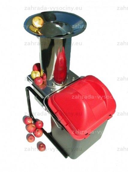Elektrické nerezové drtiče ovoce
