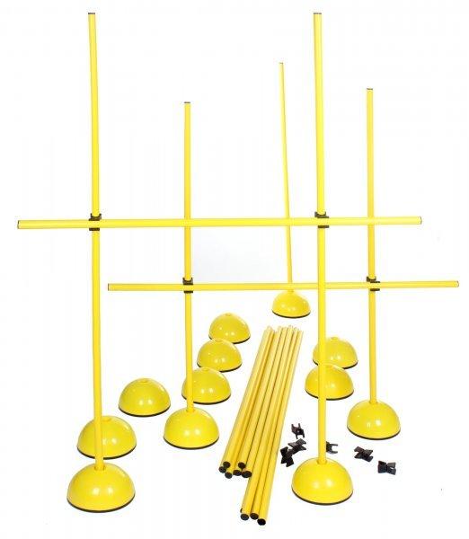 Sportovní tréninkové pomůcky - Překážkový set DS 11 set s tyčkou 6x včetně tašky