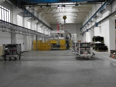 Průmyslové betonové haly