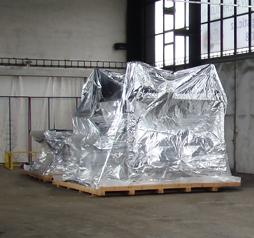 Exportní balení těžkých zásilek pro přepravu