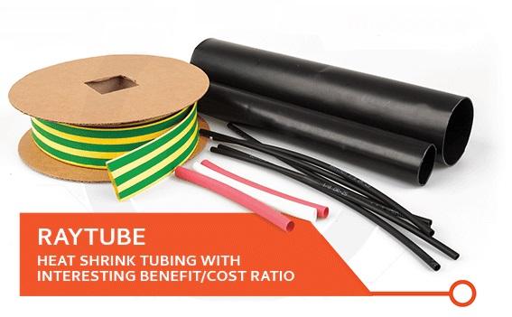 Smršťovací hadice, bužírky RayTube pro průmyslové použití, náročné aplikace